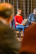 The 2017 YES (Selkirk, Ettrick & Yarrow) Festival, which took place over tyhe 12th to 17th September. The bi-annual arts event took place at venues in the Valleys and Selkirk, including The Haining, The County Hotel, Selkirk town square and Bowhill House.  The event included dance, the visual arts, moving image, outdoor theatre, live music and poetry.<br /> A open reading session, at The County Hotel,  of the entries for the festival's third Poetry Challenge, inviting writers of all ages to compose new work in response to the theme - the Water's Edge.