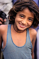 Inde. Rajasthan. Region de Jodhpur. Femme Rajpute. // India. Rajasthan. Jodhpur area. Rajpute woman.