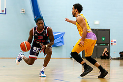 Fred Thomas of Bristol Flyers - Photo mandatory by-line: Robbie Stephenson/JMP - 10/04/2019 - BASKETBALL - UEL Sports Dock - London, England - London Lions v Bristol Flyers - British Basketball League Championship