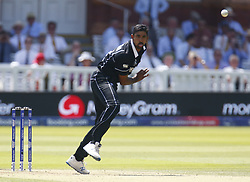 June 29, 2019 - London, United Kingdom - Ish Sodhi of New Zealand .during ICC Cricket World Cup between New Zealand and Australia at the Lord's Ground on 29 June 2019 in London, England. (Credit Image: © Action Foto Sport/NurPhoto via ZUMA Press)
