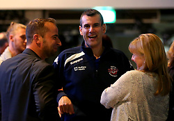 Bristol Flyers head coach Andreas Kapoulas meets fans at the 2017/18 launch event at Ashton Gate - Mandatory by-line: Robbie Stephenson/JMP - 11/09/2017 - BASKETBALL - Ashton Gate - Bristol, England - Bristol Flyers 2017/18 Season Launch