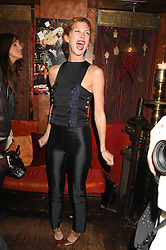 MARGO STILLEY at a party in honour of Ivana Trump hosted by Mohieb Dahabieh at Pasha, Gloucester Road, London on 25th January 2008.<br />