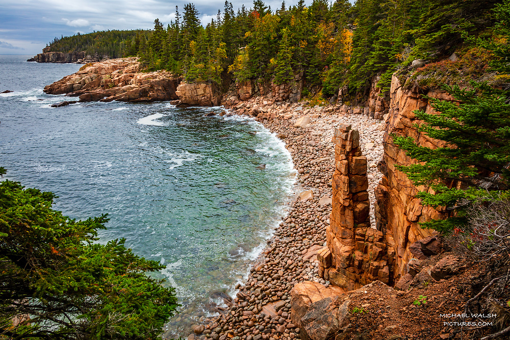 """TO PURCHASE: Simply click """"Add to Cart"""" to see prints and products available.<br /> <br /> Acadia National Park is an American jewel located on the stunning coast of Maine.<br /> <br /> The first national park located east of the Mississippi River it boasts views unlike anything on the eastern seaboard.<br /> <br /> This image was captured at Monument Cove...an often missed spot at Acadia.<br /> <br /> Camera Data:<br /> f/13, 1/20sec, 24mm, ISO100<br /> RAW, Manual Mode, Evaluative Metering<br /> Tripod, Bare Glass, Lr<br /> Canon 5ds, Canon EF 24-105mm<br /> <br /> High Resolution Image"""