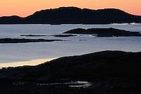 Flatanger,  Nord Trøndelag, Norway. August 2008.