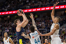 March 2, 2018 - Madrid, Madrid, Spain - Jan Vesely during Fenerbahce Dogus Istanbul victory over Real Madrid (83 - 86) in Turkish Airlines Euroleague regular season game (round 24) celebrated at Wizink Center in Madrid (Spain). March 2nd 2018. (Credit Image: © Juan Carlos Garcia Mate/Pacific Press via ZUMA Wire)