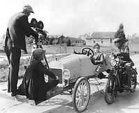 1922 Filming Harold Lloyd at Hal Roach Studios