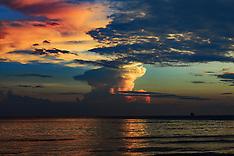 China - Shanwei Seaside Sunset - 08 Oct 2016