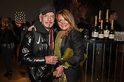 NICKY HASLAM, EMMA ASCARI, The George Michael Collection drinks.  Christie's, King St. London, 12 March 2019