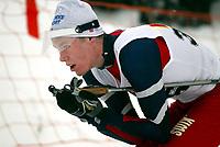 Langrenn, 27. feburar 2003, Junior NM,  Kristoffer Robin Moslet, Stokke