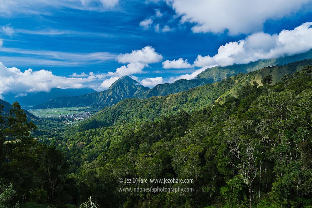 Sembalun valley, Mt. Rinjani National Park, Lombok, NTB, Indonesia