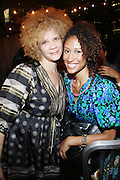 19 July 2010-New York, NY- l to r: Michaela Angela Davis and Elaine Welterroth at The Belle Affair powered by Belevedre Grapefruit Vodka  and hosted by Emil Welbekin to celebrate the birthday of Dating Expert Demetria Lucas, who is highly regarded and followed by millions of readers and high profile peers through her wildly popular dating and relationships blog, held at the Shelbourne Hotel Rooftop on July 19, 2010 in New York City.