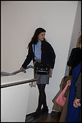 EVANGELINE INDIA LING, Allen Jones private view. Royal Academy,  London. 11 November  2014.