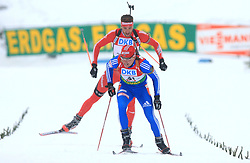 Dmitri Yaroshenko (RUS) at Men 20 km Individual at E.ON Ruhrgas IBU World Cup Biathlon in Hochfilzen (replacement Pokljuka), on December 18, 2008, in Hochfilzen, Austria. (Photo by Vid Ponikvar / Sportida)