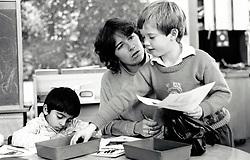Primary school, Nottingham UK 1986
