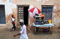 Tanzanie, archipel de Zanzibar, ile de Unguja (Zanzibar), ville de Zanzibar, quartier Stone Town classe patrimoine mondial UNESCO, jour de pluie // Tanzania, Zanzibar island, Unguja, Stone Town, unesco world heritage, raining day
