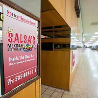 050313       Brian Leddy<br /> Salsa's Mexican Restaurant recently opened a new location in Rio West Mall. They will share a space with Class Act.