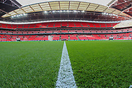 A general view prior to the Friendly match between England and Italy at Wembley Stadium, London, England on 27 March 2018. Picture by Toyin Oshodi.