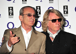 © licensed to London News Pictures. LONDON UK  01/07/11.Francis Rossi and Rick Parfitt of Status Quo attends the 2011 Silver Clef Awards held at the Hilton Park Lane in London. Please see special instructions for usage rates. Photo credit should read ALAN ROXBOROUGH/LNP