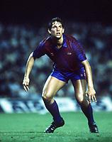 Fotball<br /> Barcelona Historie<br /> Foto: Colorsport/Digitalsport<br /> NORWAY ONLY<br /> <br /> 08.10.1986<br /> Gary Lineker (Barca)