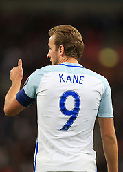 5 October 2017 -  2018 FIFA World Cup Qualifying (Group F) - England v Slovenia - Harry Kane of England gives a thumbs up - Photo: Marc Atkins/Offside