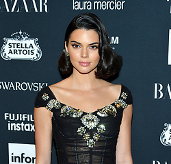 Model Kendall Jenner attends the Harper's Bazaar Icons by Carine Roitfeld celebration at The Plaza Hotel in New York, NY on September 8, 2017.  (Photo by Stephen Smith/SIPA USA)