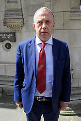© Licensed to London News Pictures. 28/04/2016. London, UK. Labour MP JOHN MANN outside Millbank studios in London after he confronted Ken Livingstone over comments he made a bout the Israel.. Photo credit: Ben Cawthra/LNP