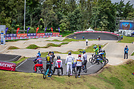 2021 UCI BMXSX World Cup<br /> Round 4 at Bogota (Colombia)<br /> Practice