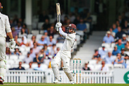 Sam Curran of Surrey batting during the Specsavers County Champ Div 1 match between Surrey County Cricket Club and Kent County Cricket Club at the Kia Oval, Kennington, United Kingdom on 7 July 2019.