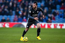 Christian Fuchs of Leicester City - Mandatory by-line: Robbie Stephenson/JMP - 19/01/2020 - FOOTBALL - Turf Moor - Burnley, England - Burnley v Leicester City - Premier League