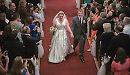2014/11/01 -- Alex & Matthew Wedding -- St. Thomas Aquinas Church in Palo Alto, Calif., on Nov. 1, 2014<br /> <br /> Photo by Michael Chen