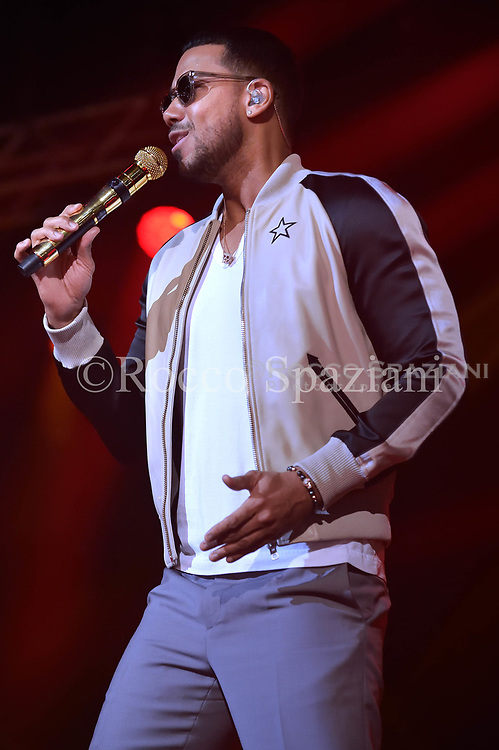 Romeo Santos Performs Palalottomatica on May 10 , 2018