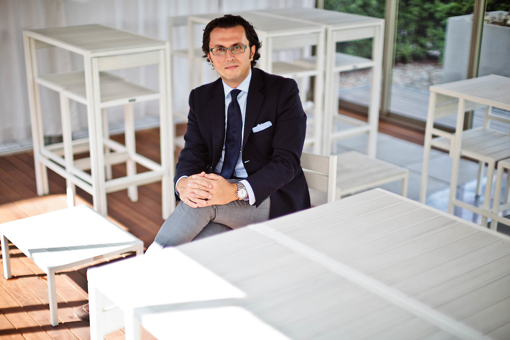 05 SEP 2011 - Bologna - Gianmarco Biagi, amministratore delegato di Corradi, coperture outdoor