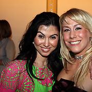 NLD/Amsterdam/20080303 - Modeshow Jos van Raak 2008, Graziella Ferraro en Lieke de Lange
