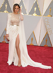 February 27, 2017 - Los Angeles, California, United States of America - 2/26/17.Chrissy Teigen at the 89th Annual Academy Awards (Oscars)..(Hollywood, CA, USA) (Credit Image: © Starmax/Newscom via ZUMA Press)