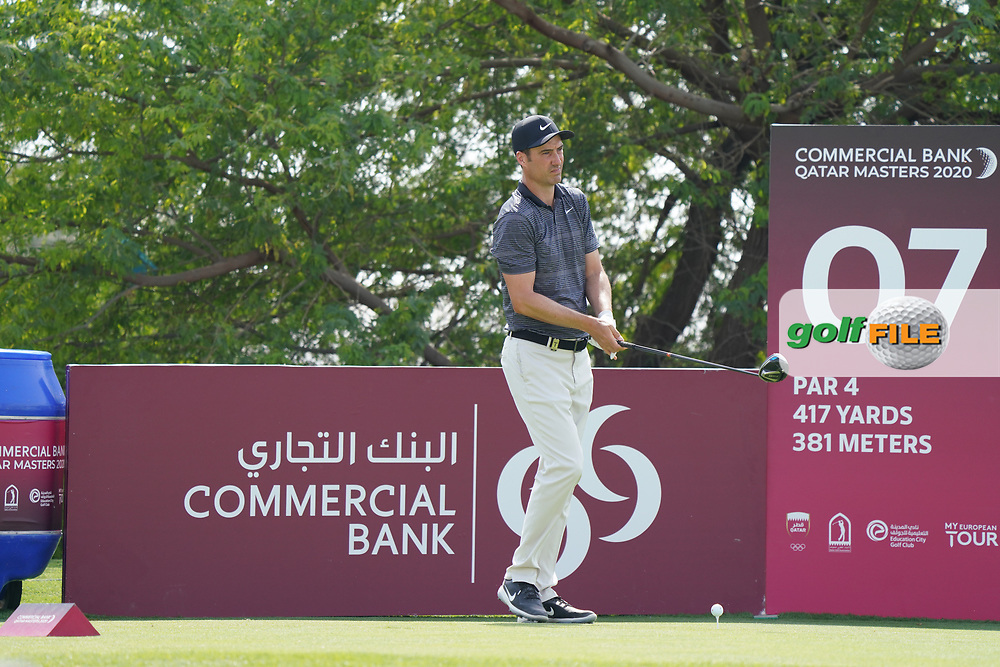 Ross Fisher (ENG) during the final round of the Commercial Bank Qatar Masters 2020, Education City Golf Club , Doha, Qatar. 08/03/2020<br /> Picture: Golffile   Phil Inglis<br /> <br /> <br /> All photo usage must carry mandatory copyright credit (© Golffile   Phil Inglis)