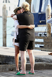Liam Howlett and wife Natalie Appleton show PDA during the Venice Film Festival. 29 Aug 2018 Pictured: Liam Howlett and Natalie Appleton. Photo credit: AMA/ MEGA TheMegaAgency.com +1 888 505 6342