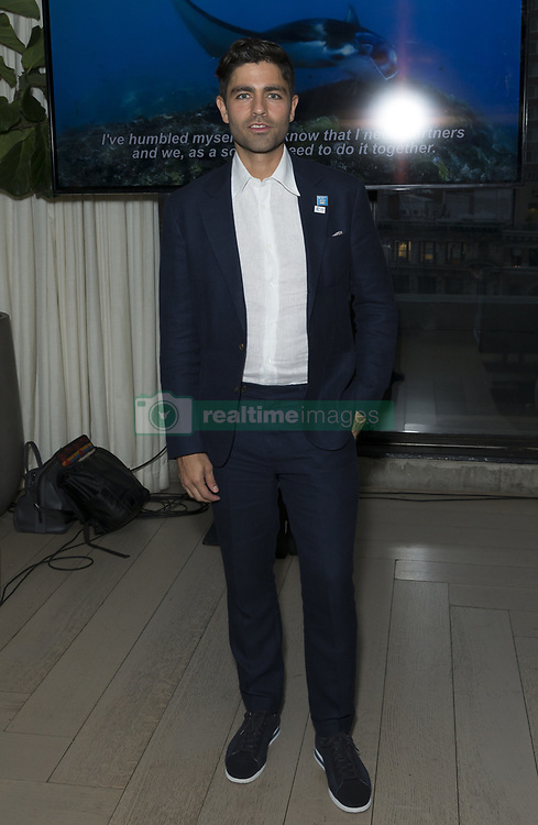 June 5, 2017 - New York, New York, United States - United Nations Goodwill Ambassador Adrian Grenier attends Lonely Whale foundation benefit in Spring Studios. (Credit Image: © Lev Radin/Pacific Press via ZUMA Wire)