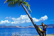 Pinney's Beach, Nevis Island, St. Kitts & Nevis ( Saint Christopher and Nevis ) Lesser Antilles ( Eastern Caribbean Sea ) MR 95 & 96