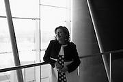 l'AD di Trenitalia Barbara Morgante. Tiburtina, Roma 29 settembre 2016. Christian Mantuano / OneShot