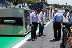 GP Brazil F1 preparation - 31 Oct 2018