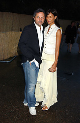 NELLIE HOOPER and girlfriend ULIA at the annual Serpentine Gallery Summer Party co-hosted by Jimmy Choo shoes held at the Serpentine Gallery, Kensington Gardens, London on 30th June 2005.<br /><br />NON EXCLUSIVE - WORLD RIGHTS