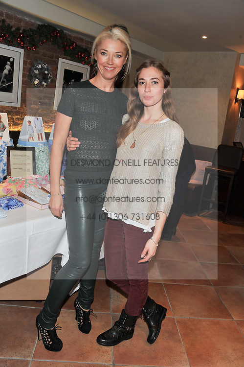 Left to right, TAMARA BECKWITH and her daughter ANNOUSHKA at the Delicious Glamourous Girls Christmas Bazaar held at The Little Black Gallery & 11 Park Walk, Park Walk, London on 27th November 2012.