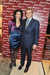 FERRUCCIO FERRAGAMO and ILARIA FERRAGAMO at the Salvatore Ferragamo Old Bond Street Boutique Store Launch on 5th December 2012.