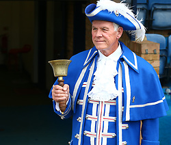 September 30, 2017 - Southend, England, United Kingdom - Town Crier.during Sky Bet League one match between Southend United against Blackpool at  Roots Hall,  Southend on Sea England on 30 Sept  2017  (Credit Image: © Kieran Galvin/NurPhoto via ZUMA Press)