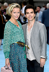 Kelly Jones (right) and Jakki Healy attending the Swimming with Men premiere held at Curzon Mayfair, London. Photo credit should read: Doug Peters/EMPICS