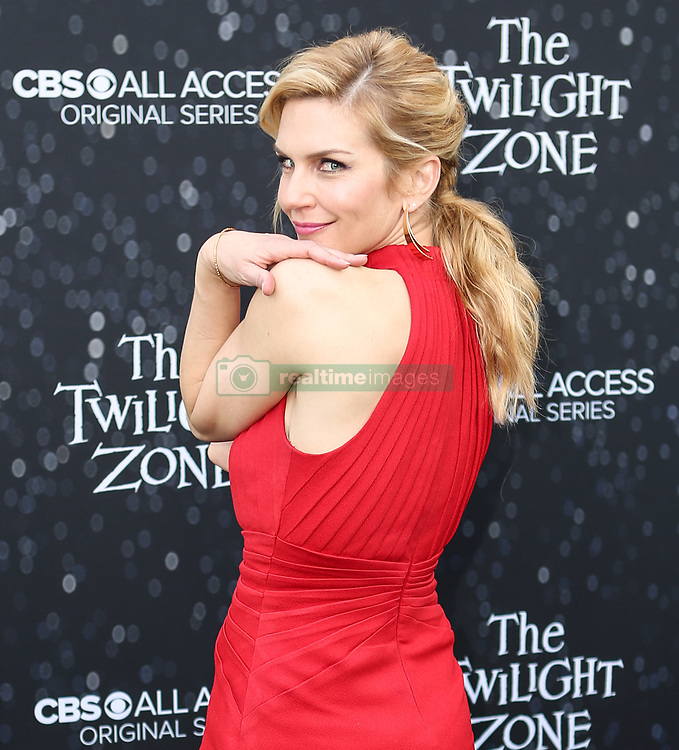 March 26, 2019 - Hollywood, California, U.S - March 26, 2019 - Hollywood, California, U.S. - RHEA SEEHORN poses upon arrival for the premiere of The Twilight Zone (Credit Image: © Alexander Seyum/ZUMA Wire)