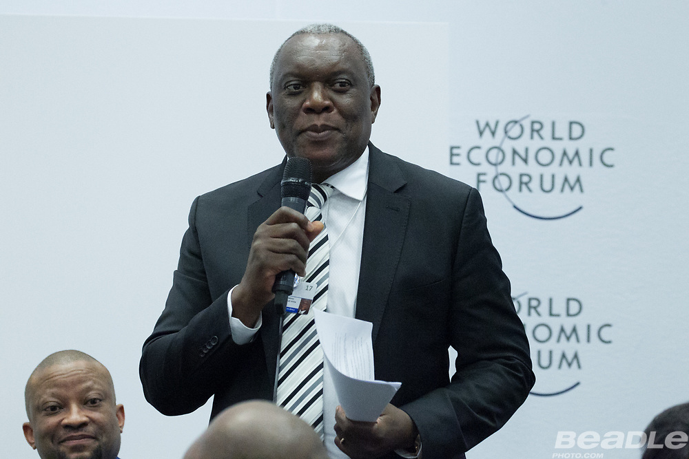 Siyabonga Cwele, Minister of Telecommunications and Postal Services<br /> Ministry of Telecommunications and Postal Services of South Africa at the World Economic Forum on Africa 2017 in Durban, South Africa. Copyright by World Economic Forum / Greg Beadle