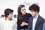 Queen Letizia of Spain attends the launch of the Project '(In) formate' at Google Campus on April 4, 2019 in Madrid, Spain
