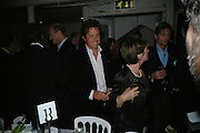 HUGH GRANT, Dinner in aid of 'Action Trust For the Blind organised by Matthew Carr. 20th Century Theatre. Westbourne Gro. London. 26 September 2007. -DO NOT ARCHIVE-© Copyright Photograph by Dafydd Jones. 248 Clapham Rd. London SW9 0PZ. Tel 0207 820 0771. www.dafjones.com.