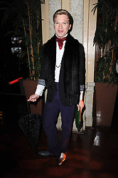 HENRY CONWAY at a party and fashion show to celebrate the 40th anniversary of Butler & Wilson held at Koko, 1 Camden High Street, London NW1 on 12th November 2009.